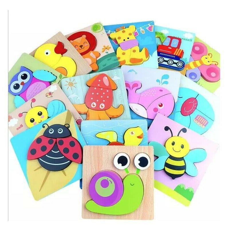 Wooden Toddlers Kids Educational