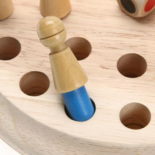 Wooden Chess Children Puzzle