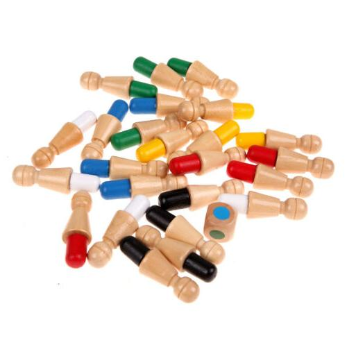 Wooden Memory Stick Chess Puzzle Toys