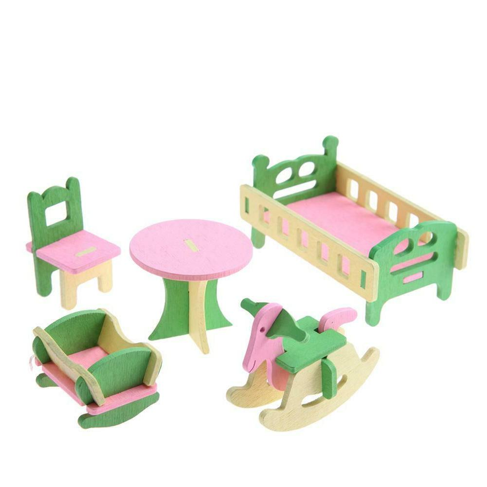 Wooden Furniture Educational Toys