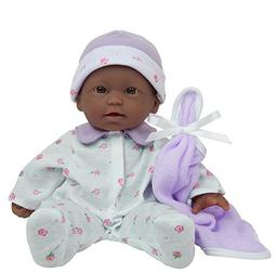 JC Toys La Baby 11-inch African American Soft Body Play Doll