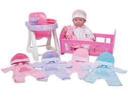 JC Toys La Baby Doll Set