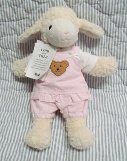 Steiff Lamb Best for Baby 237416 stuffed baby toy pink cloth