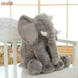 large elephant pillow soft plush stuff toys