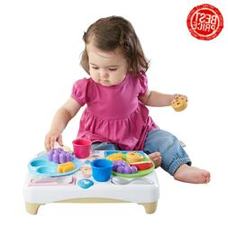 Fisher-Price DRF59 Laugh & Learn Say Please Snack Set, Multi