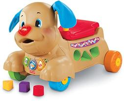 Fisher-Price Laugh & Learn Stride-to-Ride Puppy, Ride-On Toy