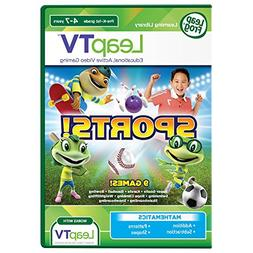 Leap Frog Sports -9 Games Mathmatics Active Video Game New L