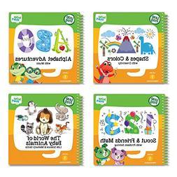 LeapFrog LeapStart Preschool 4-in-1 Activity Book Bundle wit