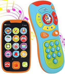 JOYIN My Learning Remote and Phone Bundle with Music, Fun, S