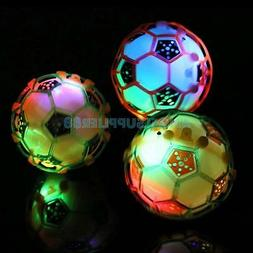 LED Light Jumping Ball Baby Crazy Music Football Kid/'s XMAS Jump Toys Pet Toy A