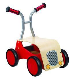Award Winning Hape Little Red Rider Wooden Kid's Ride on Bik