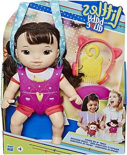Baby Alive Littles Carry 'N Go Squad - Little Iris Black Hai