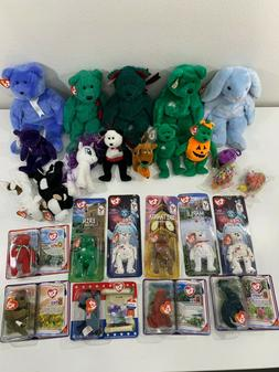 Lot 26- Beanie Baby Babies TY Plush Stuffed Animals Original