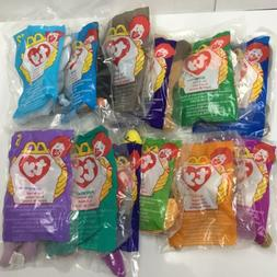Lot of 12 ~ Ty Beanie Babies ~ McDonalds Happy Meal Toys ~ 1