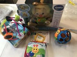 LOT of 4 New Baby Toys VTech Baby Einstein Infantino