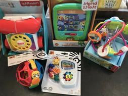 LOT of 5 New Baby Toys Bright Starts Lights & Sounds Fisher