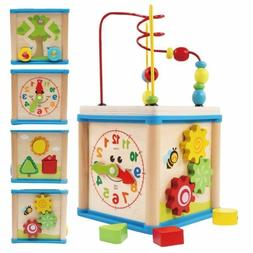 lovely 5 in 1 activity cube real