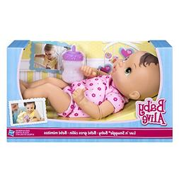 Baby Alive Luv n Snuggle Baby Doll Brunette