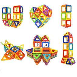 Magnetic Blocks STEM Educational Toys Magnet Building Block