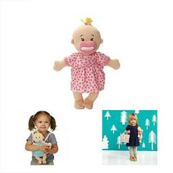 "Manhattan Dolls Toy Wee Baby Stella Peach 12"" Soft Toys Game"