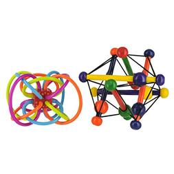 Manhattan Toy Skwish Classic Rattle and Teether Grasping & W