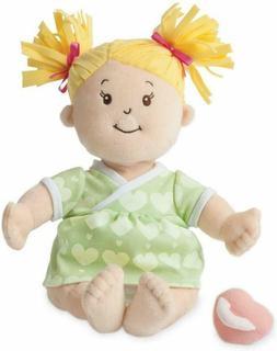Manhattan Toy GIRLS DOLL Baby Stella Sweet Sounds Soft Nurturing First DOLL
