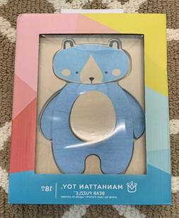 Manhattan Wooden Bear Puzzle Toy Stacking And Sorting Toys 1