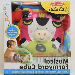 Melissa & Doug K's Kids Soft Musical Farmyard Cube Education