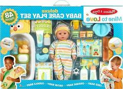 Melissa & Doug - Mine to Love Deluxe Baby Care Play - Multic