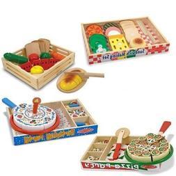 Melissa & Doug Wooden Toys Stack & Sort Magnetic Letters Puz