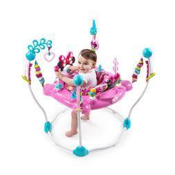 Disney Baby Minnie Mouse Peekaboo Activity Jumper 12 engagin