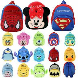 Baby Kids Unisex Mini Backpack Cartoon Animal Schoolbag Smal