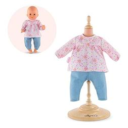 "Corolle Mon Premier Poupon 12"" Blouse & Pants Toy Baby Doll"