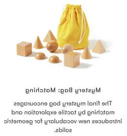 Montessori Wooden Toys Monti Kids Level 8 Box Ages 29 - 36 M