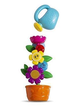MooToys MT-116 Flower Waterwheel Bath Toy, Colorful