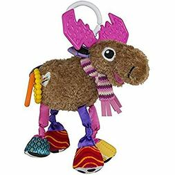 Lamaze Muffin The Moose Cuddly Baby Activity Funny Colors Cr