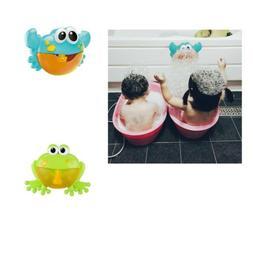 Music Bath Bubble Maker Machine Crab Frog Shape Automatic To