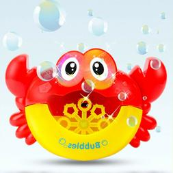Music Bath Bubble Maker Machine Crab Frog Automatic Toy for
