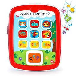 VATOS Baby Music Toy Ipad, Educational Baby Tablet, Baby Lea