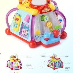 Woby Musical Activity Cube Toy Educational Game Play Center