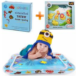 Musical Developmental Animal Toy & Inflatable Water Mat For