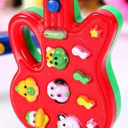 Musical Educational Guitar Baby Kids Children Portable Music Cartoon Toy Gift