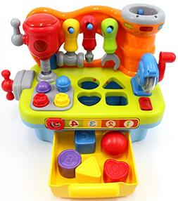 CifToys Musical Learning Workbench Toy for Kids Construction