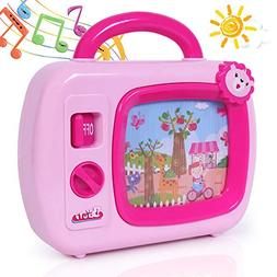 ANTAPRCIS Musical Box Toy for Ages 18 Months Up Infant with