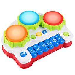 ANTAPRCIS Baby Musical Toys Piano Drums Instrument - Early E