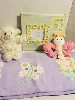 My Baby Photo Album toys blanet lot NEW
