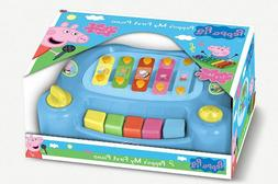 PEPPA PIG My First Piano Educational Toy Music Colourful Art