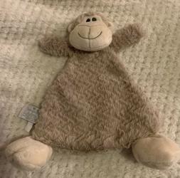 Nat & Jules Cozies Meekie Monkey Security Blanket Rattle Toy