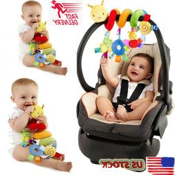 New Activity Spiral Stroller Car Seat Travel Lathe Hanging T