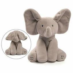 New Gund Baby Animated Singing Flappy The Elephant Plush Bab